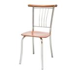 תמונה של כיסאות: כיסא מתכת לפינת אוכל דגם  קווין ראש מתכת