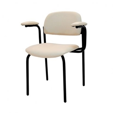 כסאות: כסא מתכת דגם  ורד ידיות