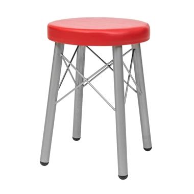 כסאות: שרפרף מתכת דגם ליאל