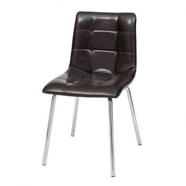 תמונה של כסאות: כסא מתכת לפינת אוכל דגם דניס רגל מתכת