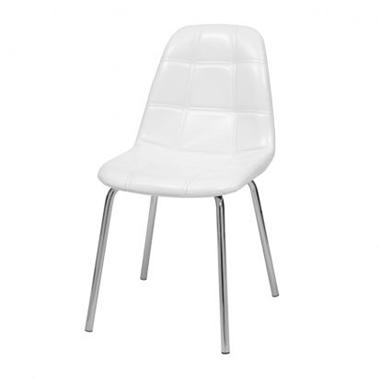 כסאות: כסא מתכת לפינת אוכל דגם נעמה