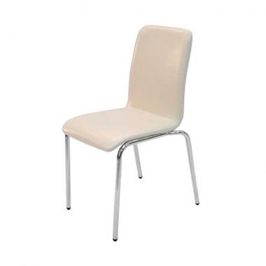 כסאות: כסא מתכת לפינת אוכל דגם שלי