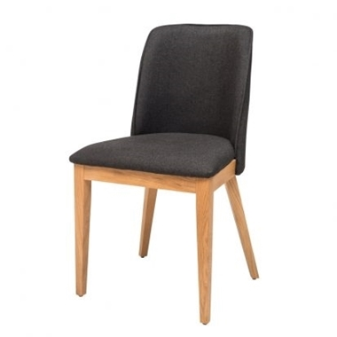 כסאות: כסא עץ לפינת אוכל דגם עטרת