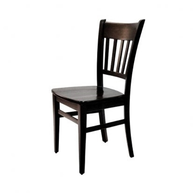 כסאות: כסא עץ לפינת אוכל דגם אהרון