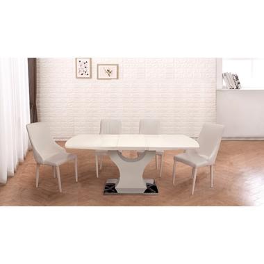 תמונה של שולחן פינת אוכל דגם מפל