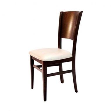 כסאות: כסא עץ לפינת אוכל דגם פוקס