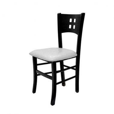 כסאות: כסא עץ לפינת אוכל דגם דמעה