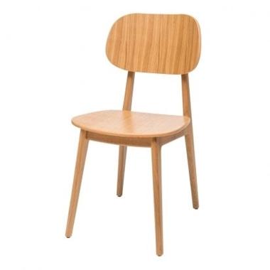 כסאות: כסא עץ לפינת אוכל דגם לוליטה