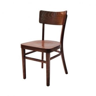 כסאות: כסא עץ לפינת אוכל דגם אגם