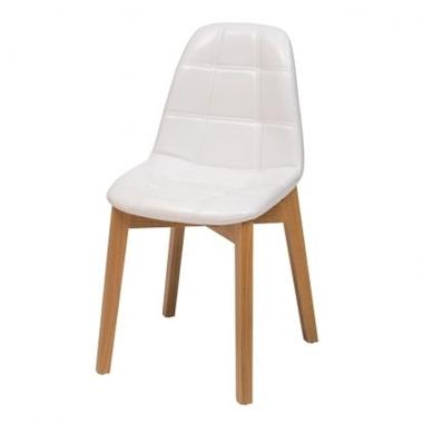 כסאות: כסא עץ לפינת אוכל דגם נעמה רגל עץ