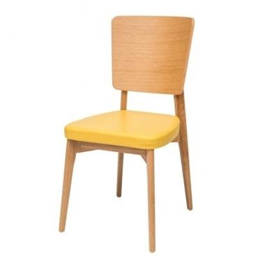 כסאות: כסא עץ לפינת אוכל דגם עדי