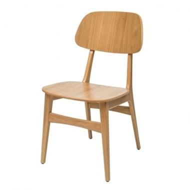 כסאות: כסא עץ לפינת אוכל דגם עמיאל