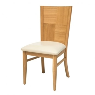 כסאות: כסא עץ לפינת אוכל דגם פילה