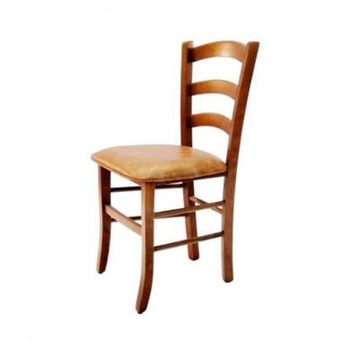 כסאות: כסא עץ לפינת אוכל דגם קארין