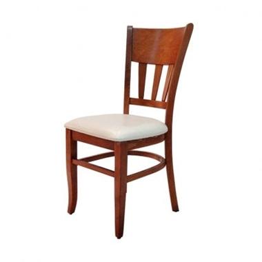 כסאות: כסא עץ לפינת אוכל דגם סמדר