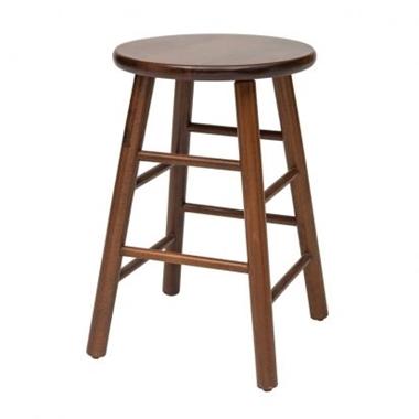 כיסאות: שרפרף עץ דגם יקינטון