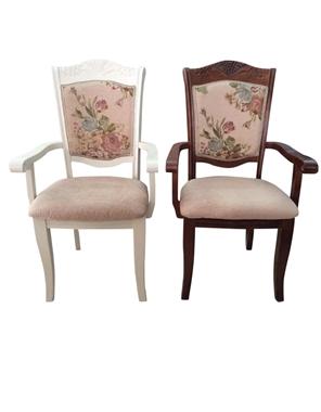 תמונה של כסאות: כסא עץ מרהיב דגם מרדכי ידיות