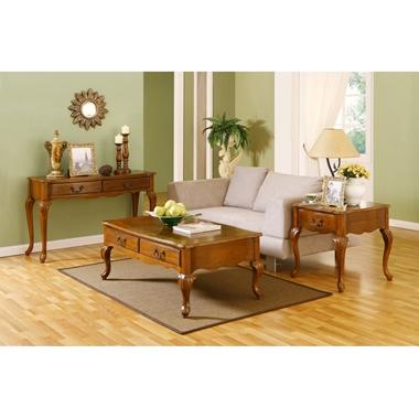 תמונה של מזנונים ושולחנות טלוויזיה: קונזולה + שולחן סלוני דגם דניאל