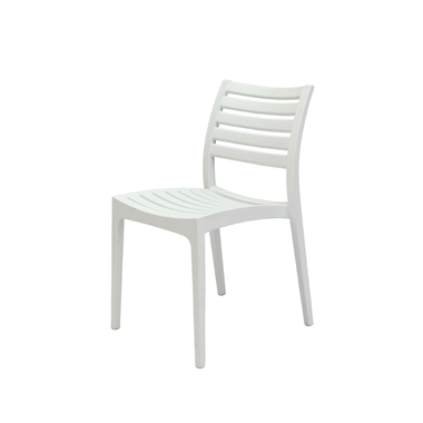 כסאות: כסא פלסטיק לפינת אוכל דגם אירה