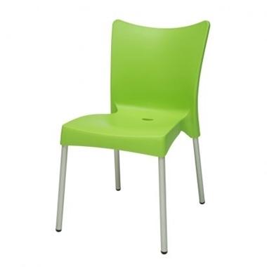 כסאות: כסא פלסטיק לפינת אוכל דגם יוליה