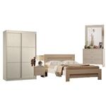 תמונה של חדר שינה: חדר שינה זוגי כולל ארון דגם איטליה
