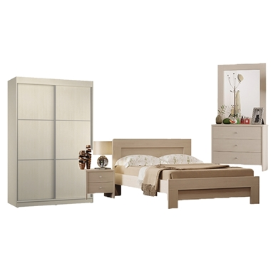 חדר שינה: חדר שינה זוגי כולל ארון דגם איטליה