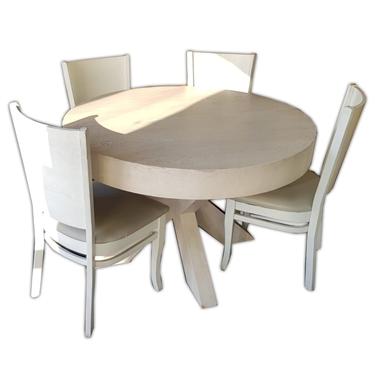 פינות אוכל:שולחן עגול לפינת אוכל דגם שני