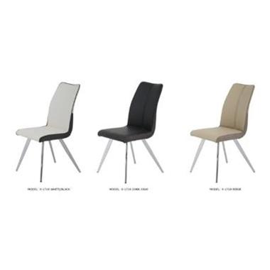 כסאות: כסא נירוסטה דגם אדי