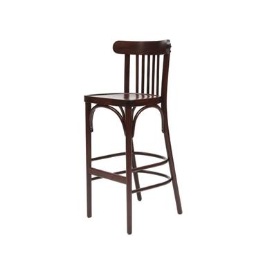 כיסאות בר: כיסא בר מעץ דגם יבניאל