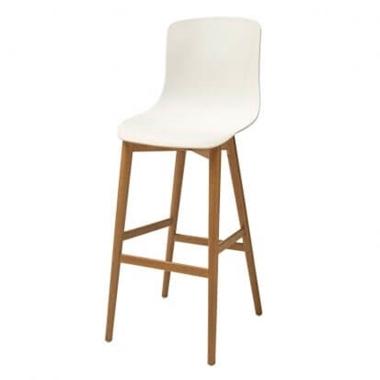 כיסאות בר: כיסא בר מעץ דגם יונתן