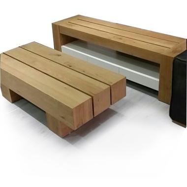 מזנונים ושולחנות טלוויזיה: מזנון + שולחן דגם זהב