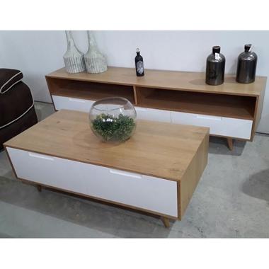 תמונה של מזנונים ושולחנות טלוויזיה: מזנון + שולחן דגם מאיה