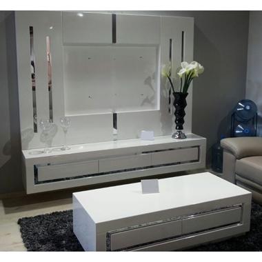 תמונה של מזנונים ושולחנות טלוויזיה: מזנון + שולחן דגם ליאור