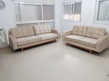 מערכות ישיבה: סלון 2 + 3 מפנק דגם מליסה