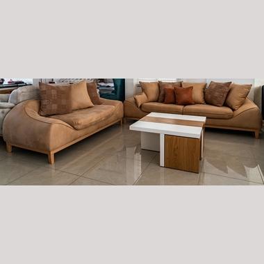 מערכות ישיבה: סלון 2 + 3 מודרני קלאסי ומפנק דגם אסי