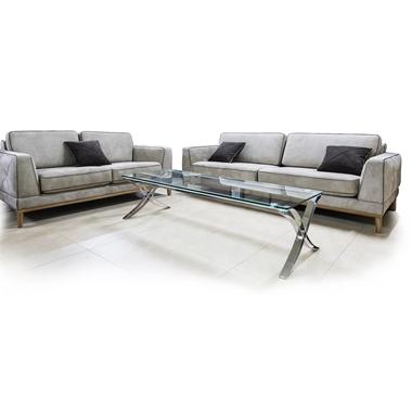 מערכות ישיבה: סלון 2 + 3 איכותי מאוד דגם לואיס