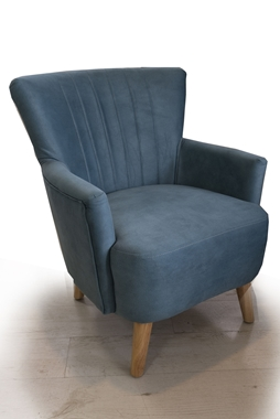כורסאות: כורסא בעלת מושב מרופד דגם אריק