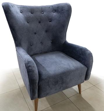 כורסאות: כורסא בעלת מושב מרופד דגם טליה