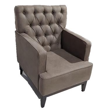 כורסאות: כורסא בעלת מושב מרופד דגם מאירה