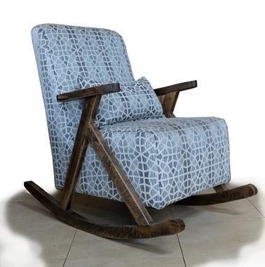 כורסאות: כורסא בעלת מושב מרופד דגם משי