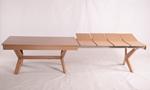תמונה של פינת אוכל מעולה דגם שפירא כולל ששה כסאות תואמים