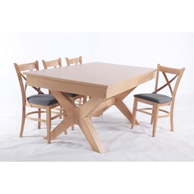 פינת אוכל מעולה דגם שפירא כולל ששה כסאות תואמים