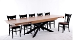תמונה של פינת אוכל יוקרתית ומדהימה דגם וורמייזה כולל שישה כסאות