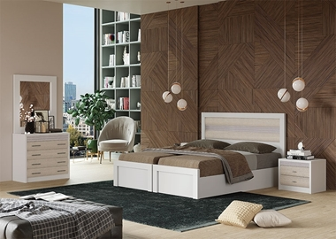 תמונה של חדר שינה זוגי בהפרדה יהודית, מעולה דגם מונרו