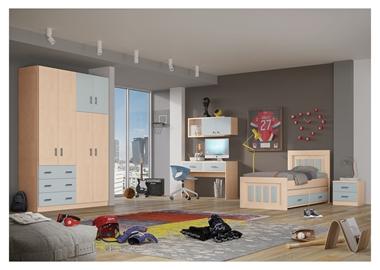 ריהוט לחדרי ילדים: חדר נוער מלא דגם איב