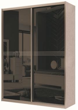 תמונה של ארונות הזזה: ארון הזזה מיוחד דגם ווינגידו