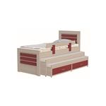 תמונה של מיטה לחדר ילדים ונוער דגם קראצ'ר