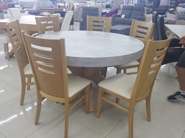 פינות אוכל:שולחן נפתח דגם עיגול