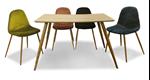 תמונה של שולחן פינת אוכל מעולה + ארבעה כסאות תואמים במבצע פייסבוק
