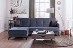 תמונה של מערכות ישיבה: סלון פינתי נפתח למשטח שינה דגם מינה פנתי